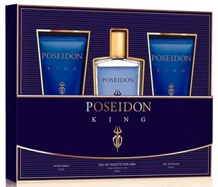 Набор для мужчин Instituto Español Poseidon The King 3pcs Set 450 ml EDT
