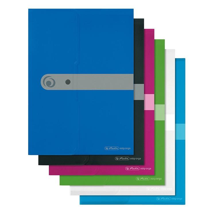 Herlitz Document Folder Easy Orga A4 11206703 Opaque Blue