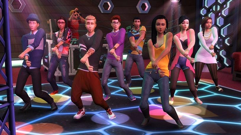 Компьютерная игра Sims 4: Get Together Expansion Pack PC
