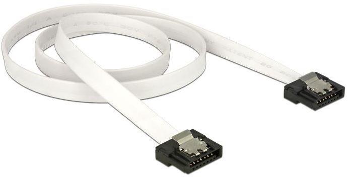 Delock Cable SATA / SATA White 0.50m
