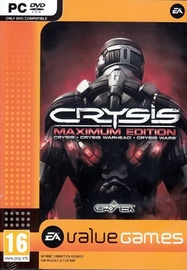 Crysis Maximum Edition Incl. Crysis, Crysis Warhead And Crysis Wars PC