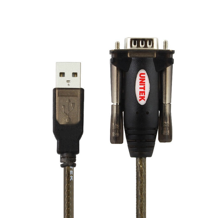 Провод Unitek Y-105 USB To Serial Converter Black
