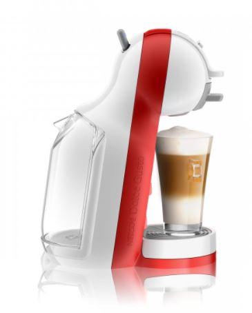 Kapsulas kafijas automāts De'Longhi Mini Me EDG305WR, balta/sarkana