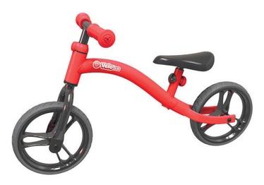 Vaikiškas dviratis YVolution YVelo Air Balance Bike Red 100820