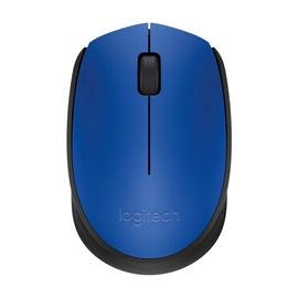 Kompiuterio pelė Logitech M171 Blue, bevielė, optinė