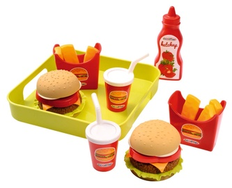 Ecoiffier Hamburger Set With Tray 8/957S