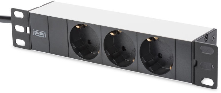 Digitus DN-95411 Power Strip 3 Outlet 2m