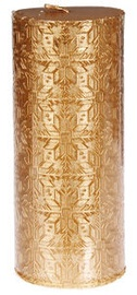 Verners Candle 6x13.5cm Gold
