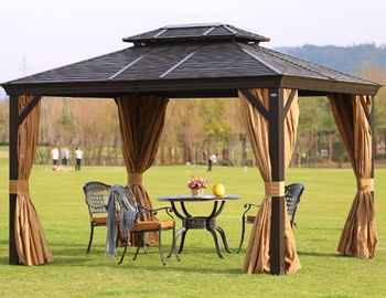 Садовый шатёр Home4you Sunset Gazebo, 400 см x 200 см