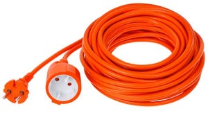 Verners Extension Cord Orange 15m