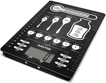 Elektrooniline köögikaal Salter 1171 CNDR, must