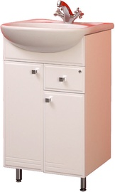 MN Step 06 Basin Cabinet 300x800x585mm White