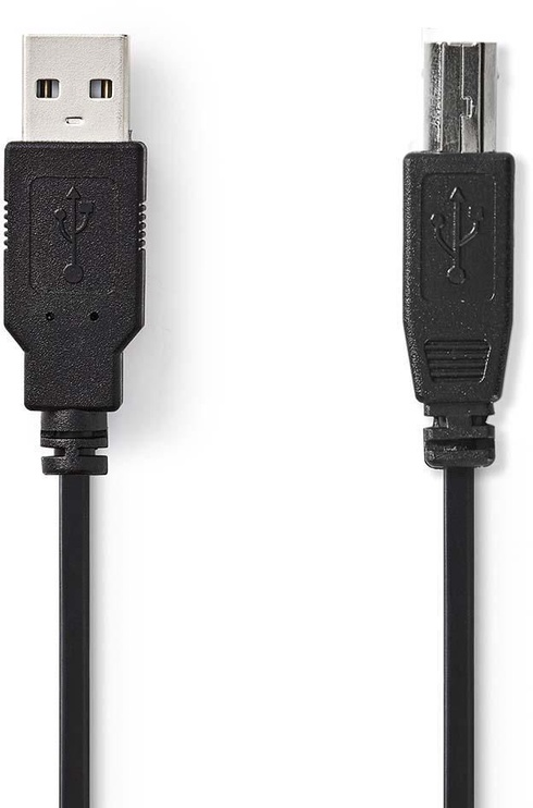 Nedis USB 2.0 Cable A To B 2m Black
