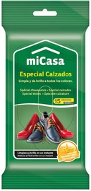 Micasa Wet Wipes For Shoes 15pcs