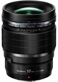 Olympus M.Zuiko Digital ED 17mm F1.2 PRO Lens Black