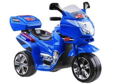 Игрушечный беспроводной мотоцикл Electric Motorcycle With LED Lights, синий