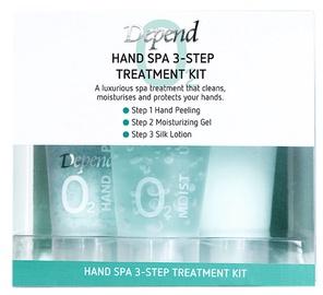 Depend O2 3Step Hand Spa Treatment Kit