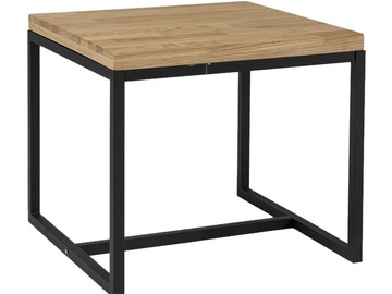 Signal Meble Loras C Coffee Table Oak/Black
