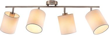Nino Rondo Spotlight Ceiling Lamp 4x40W E14 Nickel
