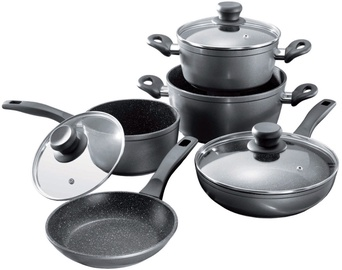 Stoneline Cookware Set 8pcs Black