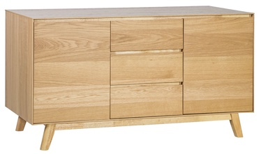 Kumode Home4you Sky Oak, 140x45x75 cm