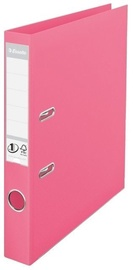 Esselte No.1 Solea Lever Arch File PP 5cm Pink