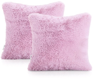 AmeliaHome Lovika Pillowcase 45x45 Pink 2pcs