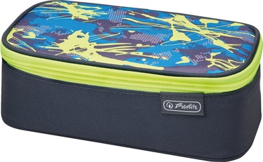 Herlitz Pencil Pouch Beatbox Camouflage Lemon 50015245