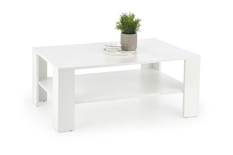 Kafijas galdiņš Halmar Kwadro White, 1100x650x530 mm