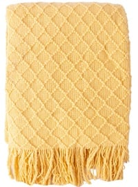 Home4you Felice Blanket 130x170cm Yellow