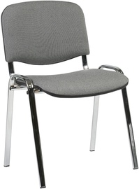 Home4you Office Chair Iso Gray/Chrome 641632