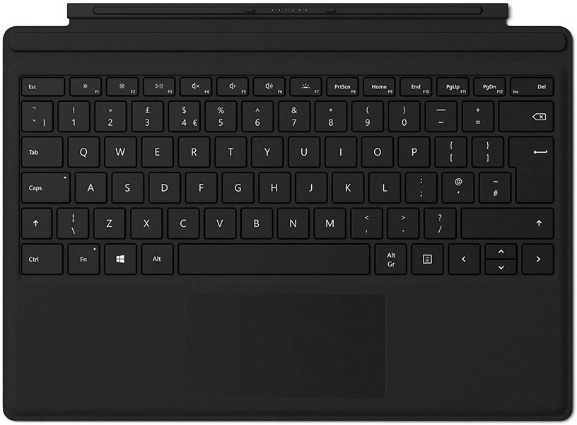 Microsoft Surface Pro Type Cover INT Black