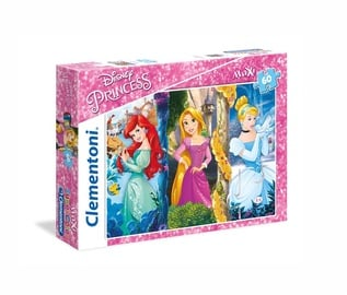Puzle Clementoni Maxi Disney Princess 26416, 60 gab.