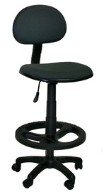 Home4you Biella High Work Chair Grey/Black
