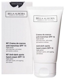 Rankų kremas Bella Aurora M7 Anti Dark Spots SPF15, 75 ml