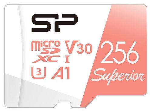 Silicon Power Superior UHS-I microSDXC 256GB + Adapter