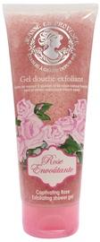 Jeanne en Provence Exfoliating Shower Gel 200ml Rose Envoutante