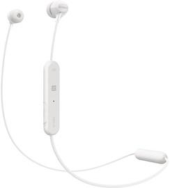 Ausinės Sony WI-C300 Wireless In-Ear Earphones White