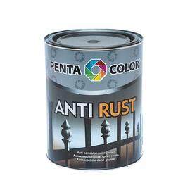 Pretkorozijas krāsa Pentacolor Antirust, 0,9l, brūna