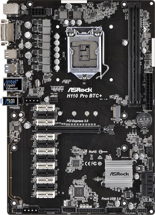 Mātesplate H110 Pro BTC+