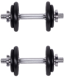inSPORTline Dumbbell Set 2x10kg