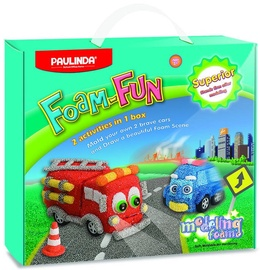 Paulinda Modeling Foam Cars 072691