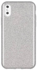 Wozinsky Glitter Shining Back Case For Apple iPhone XS Max Silver