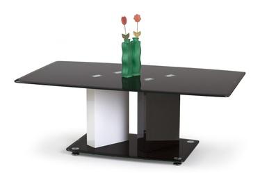 Kavos staliukas Debra juodas/baltas, 120 x 70 x 45 cm