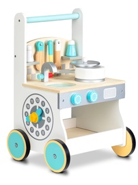 EcoToys Wooden Kitchen Trolley Pusher 214326