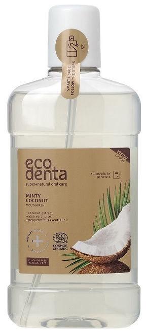 Burnos skalavimo skystis Ecodenta Cosmos Organic Minty Coconut 500ml