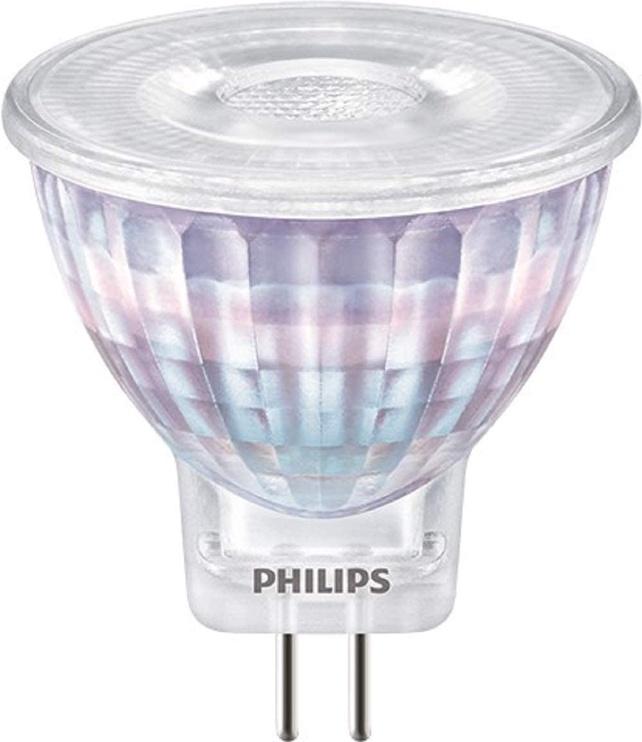 Spuldze LED Philips 2.3W, GU4, 827, 36° 184lm, 12V