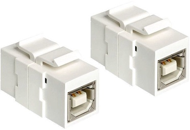 Delock Keystone Module USB 2.0 B Female White
