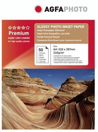 AgfaPhoto Premium Glossy Photo Inkjet Paper A4 50pcs