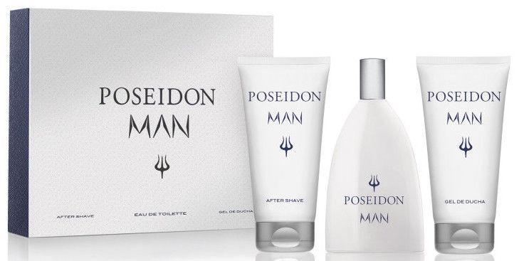Набор для мужчин Instituto Español Poseidon Man 150 ml EDT + 150 ml After Shave + 150 ml Shower Gel